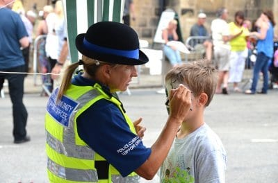 Police roadshow at Fleetwood Tram Sunday