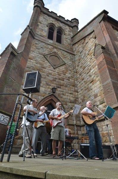 Folk music at Fleetwood Tram Sunday