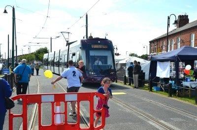 Tram Sunday 2012 tram to Fisherman's Walk