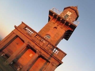 Lower Lighthouse on Fleetwood promenade