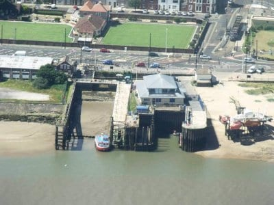 Aerial view of Fleetwood