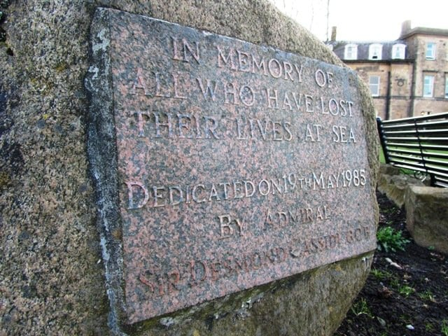 1985 Memorial Stone in Euston Gardens Fleetwood