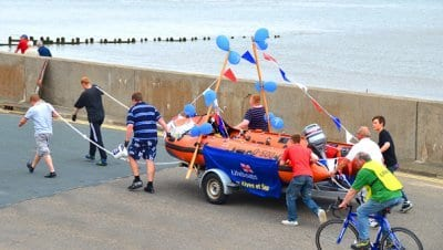 Fleetwood RNLI Lifeboat Pull