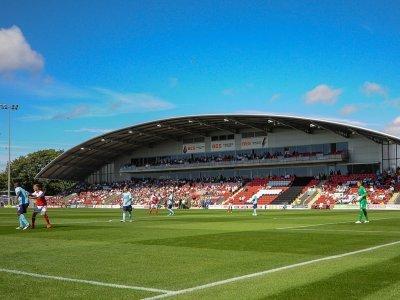 Fleetwood Town Football Club grounds at Highbury