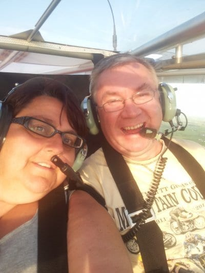Debbie and Tony Fogg and their Aerial Views!