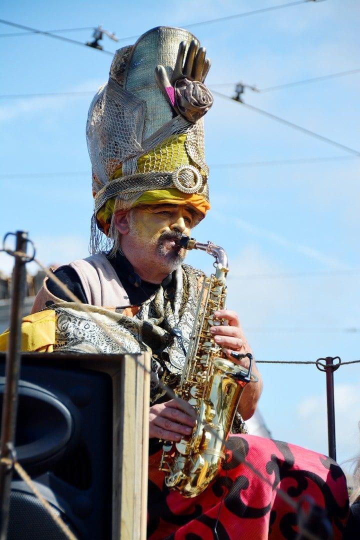 Spare Parts Arts Parade at Tram Sunday