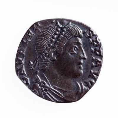 Roman Coin from the Rossall Hoard
