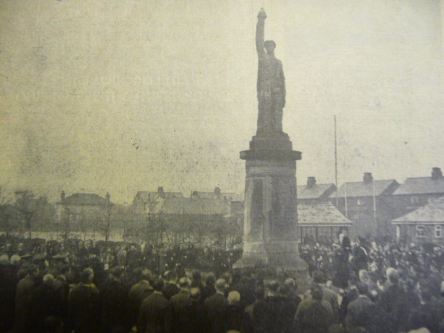 Cenotaph Unveiling in 1925 - Fleetwood Chronicle