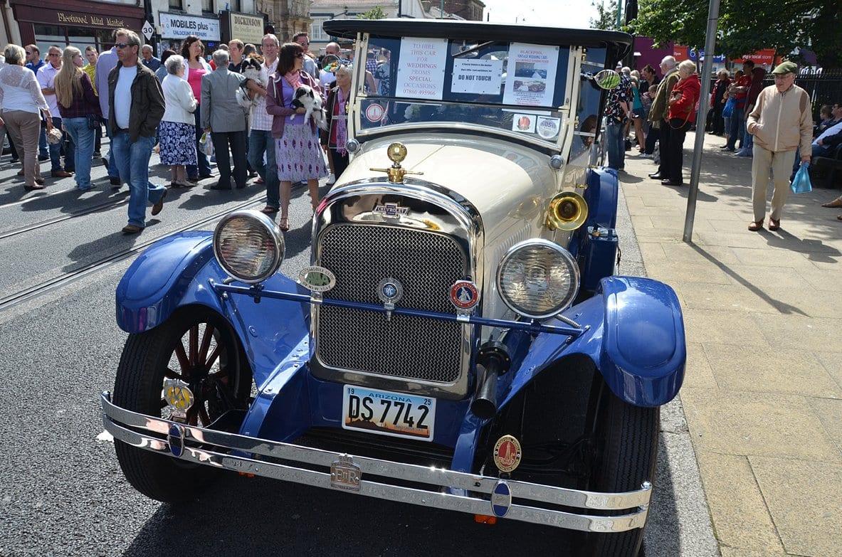 Classic vehicle at Tram Sunday