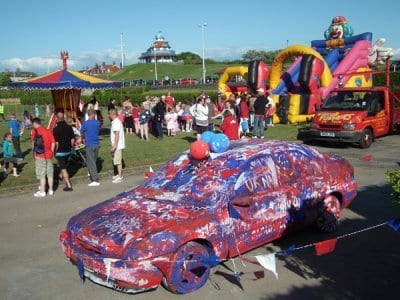 Jubilee Party at Fleetwood on 4 June