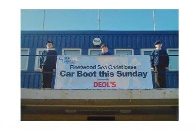 Deol's Sponsors Fleetwood Sea Cadets