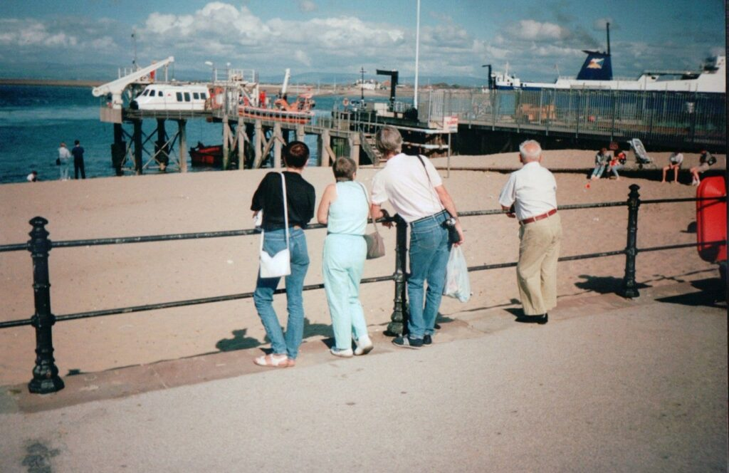 Fleetwood Esplanade in 1990. Old Fleetwood photos