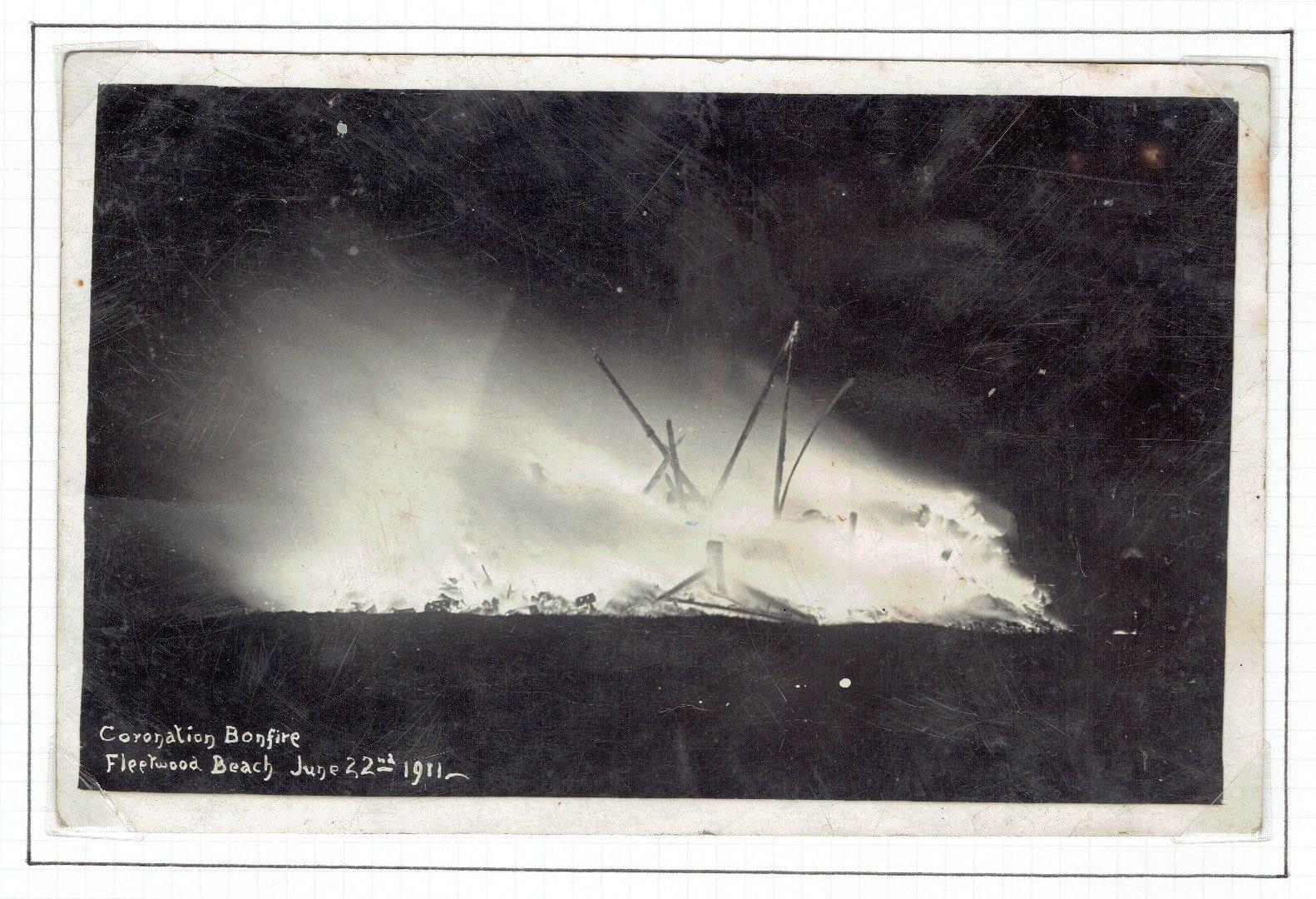 Fleetwood Bonfire of 1911, from Mike Ellis