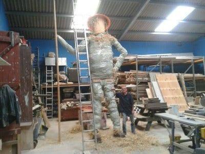Farmer Parr's Scarecrow