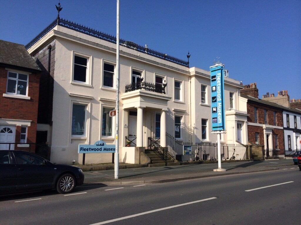History of Fleetwood Museum on Queen's Terrace