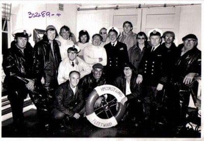 Fleetwood Coastguards form 1970s
