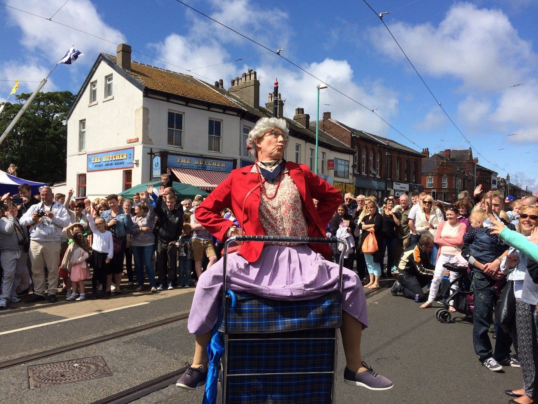 Granny Tourismo at Tram Sunday 2015