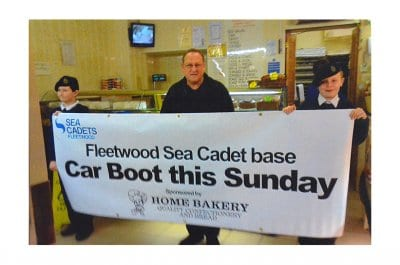 Home Bakery Sponsors Fleetwood Sea Cadets
