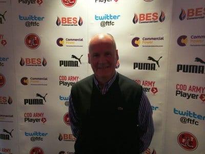 Jim Betmead MBE, President of Fleetwood Town FC