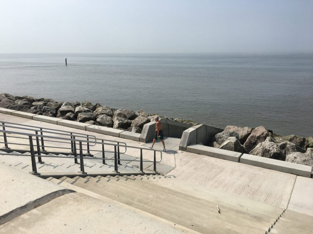 Rossall Coastal Defence Scheme at Fleetwood seafront