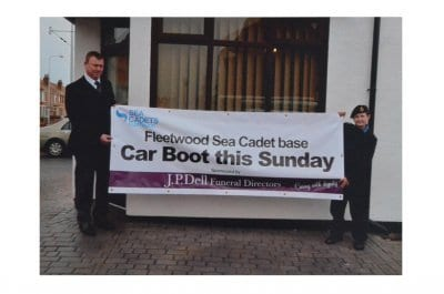 JP Dell Sponsors Fleetwood Sea Cadets