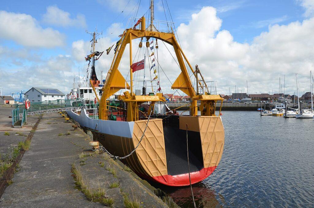 Jacinta Fishing Trawler. Photo Visit Fleetwood