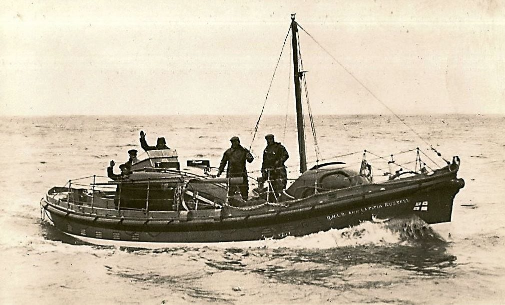 The Ann Letitia Russell lifeboat