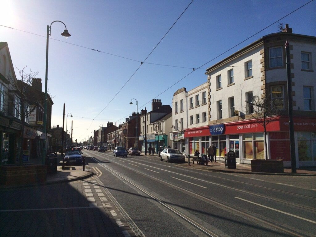 Lord Street, Fleetwood town centre