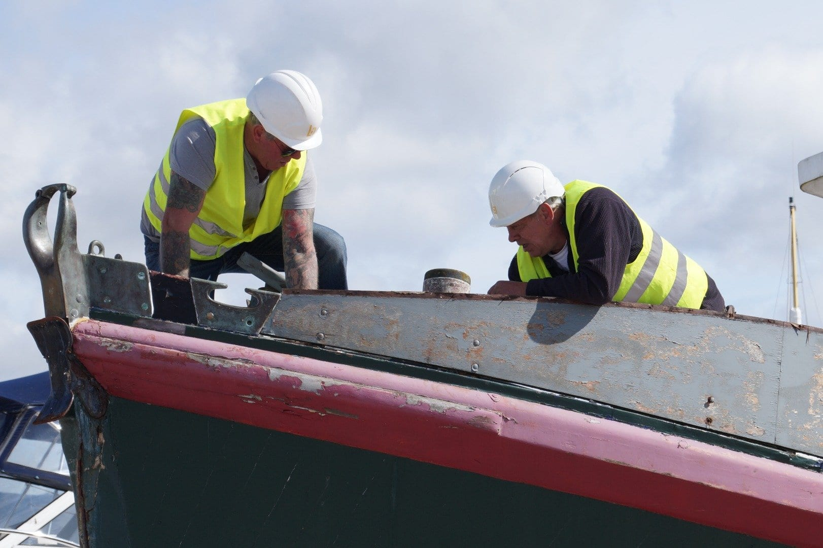Restoring Ann Letitia Russell Lifeboat