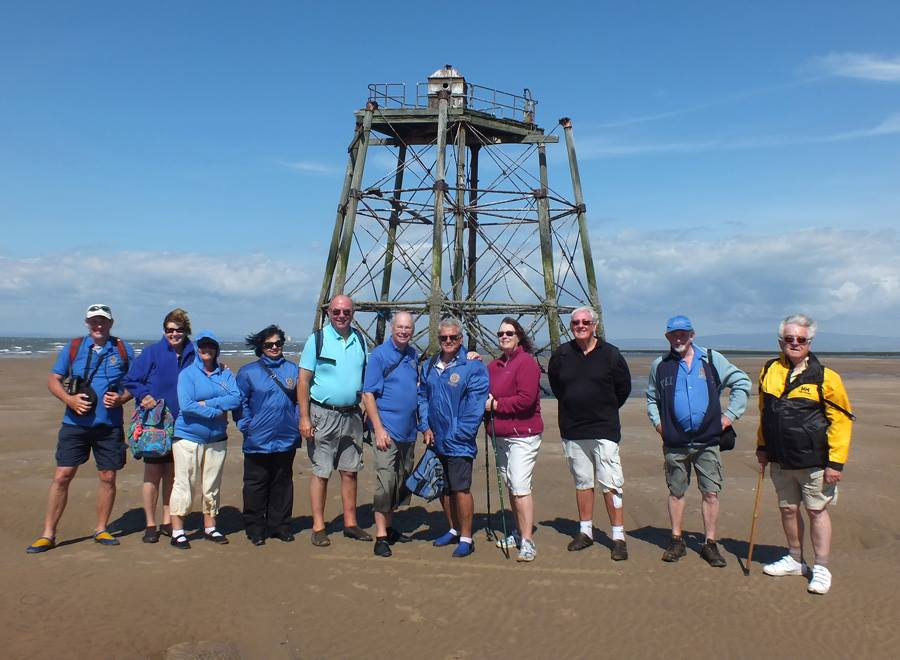 Rotary Group at Wyre Light
