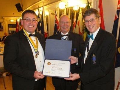 Fleetwood Rotary Club Charter Night Presentation