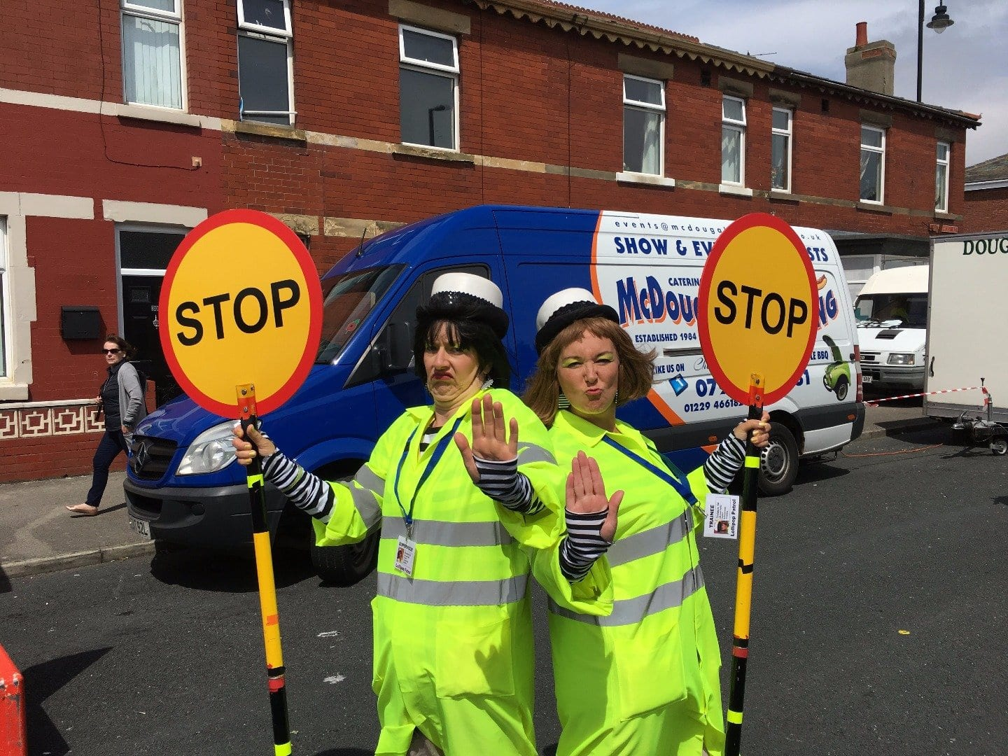 The Lollipop Patrol at Tram Sunday 2016