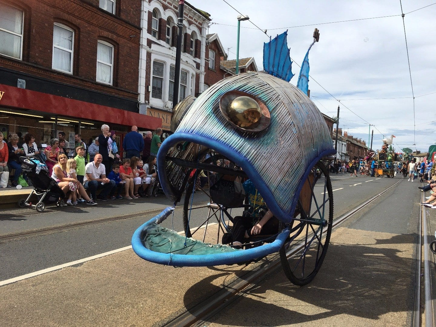 SpareParts Parade at Fleetwood Tram Sunday