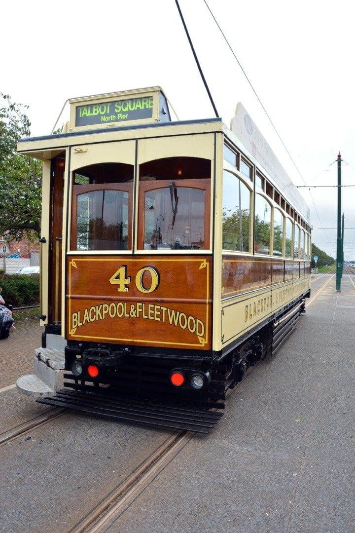 Vintage Tram at Tram Sunday 2014