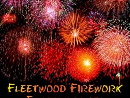 Fireworks Extravaganza in Fleetwood