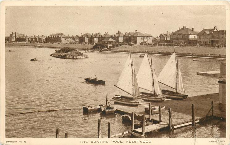 The boating pool Fleetwood