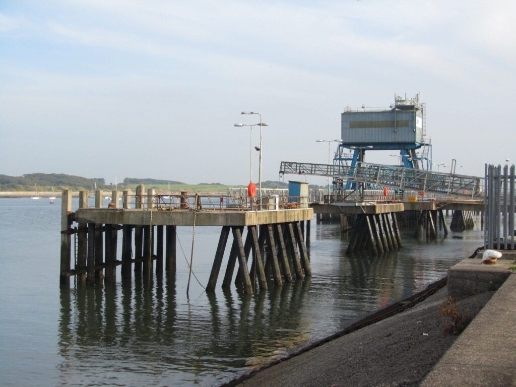 Fleetwood docks, pass them when you go walking in Fleetwood