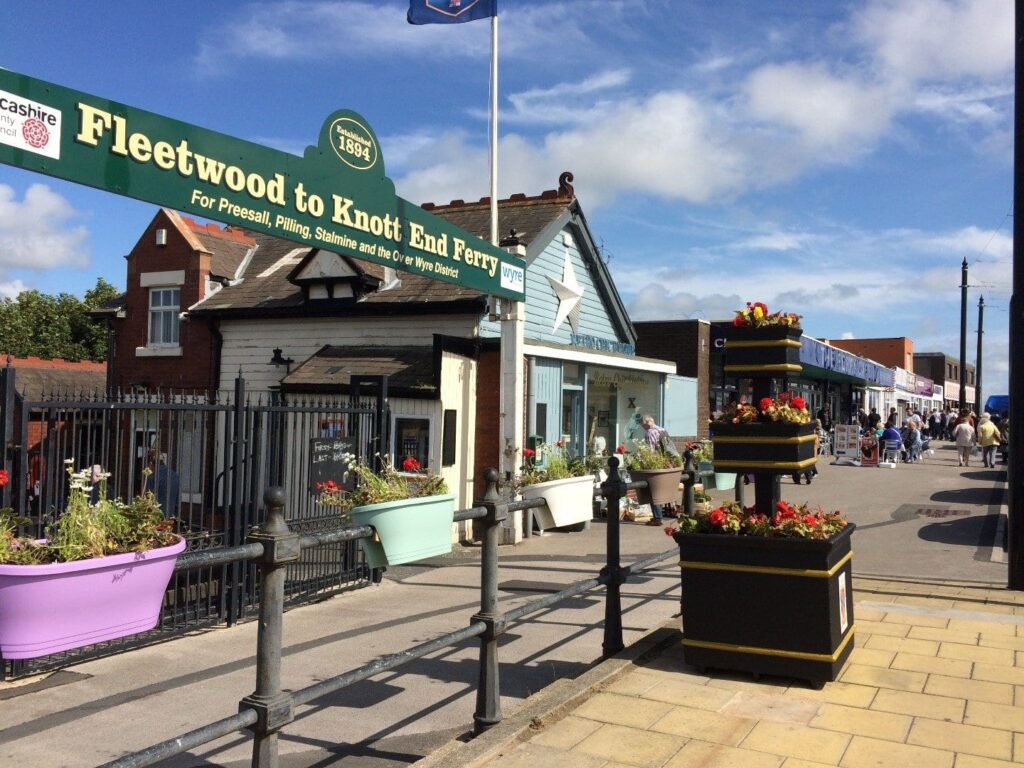 Fleetwood to Knott End Ferry, take a trip when you go walking in Fleetwood