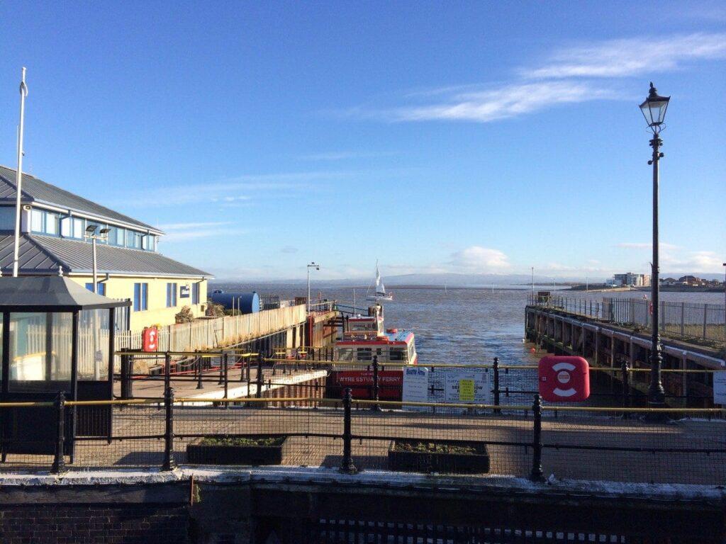 Fleetwood to Knott End Ferry berth