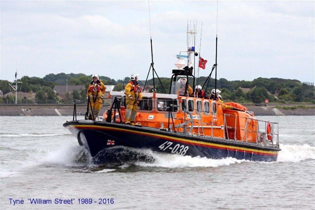 Fleetwood Tyne Class Lifeboat, William Street