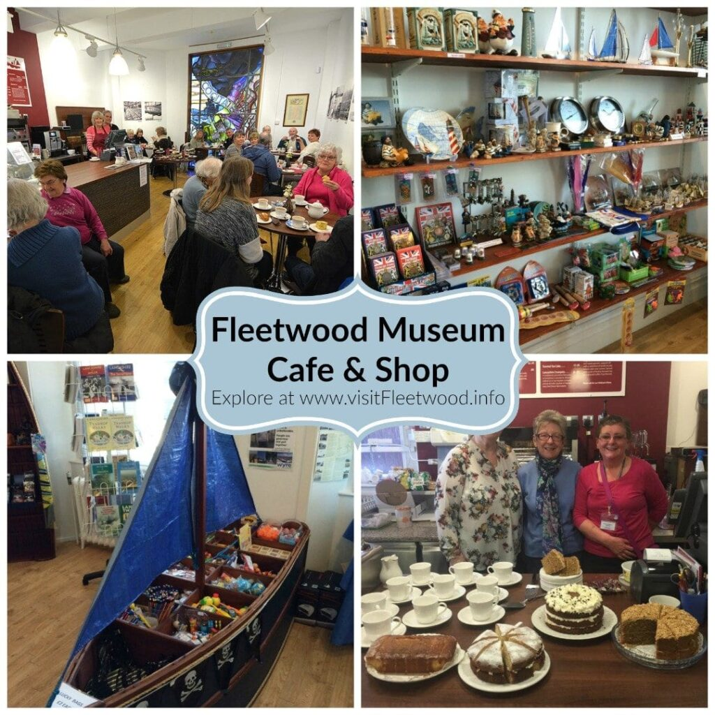 Fleetwood Museum cafe and gift shop