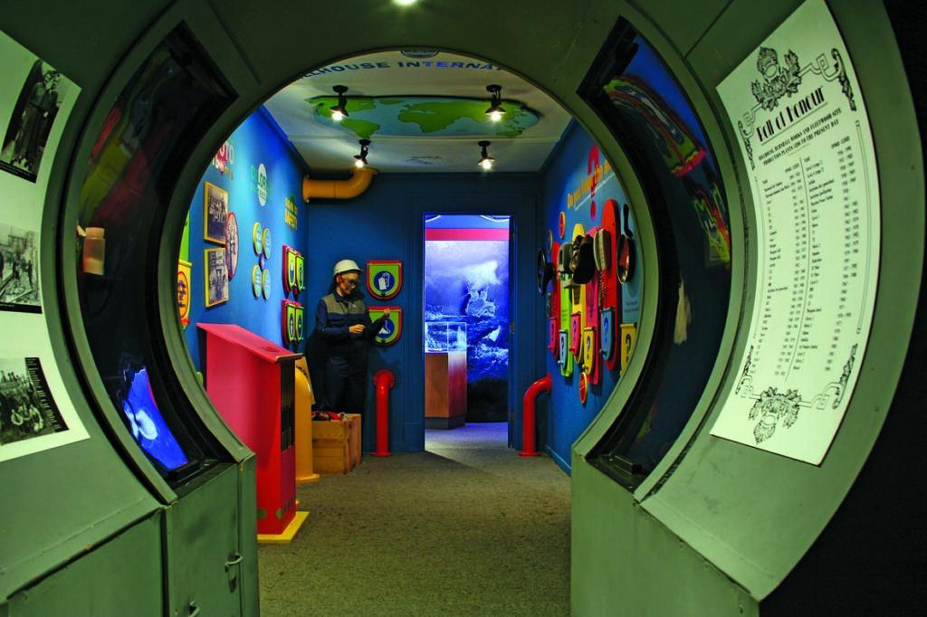 Fishing displays - history of Fleetwood Museum