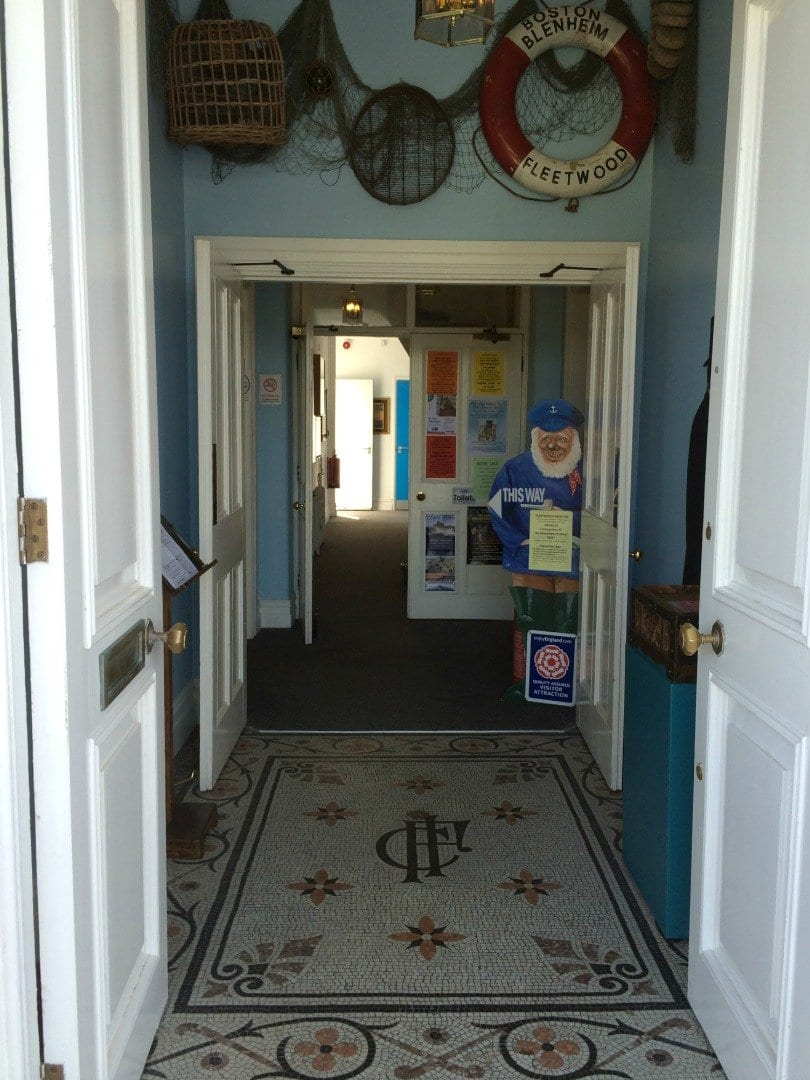 Entrance of Fleetwood Museum, find out about the history of Fleetwood Museum