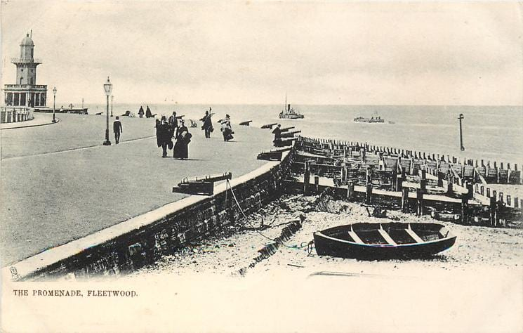 Fleetwood promenade 1903, Old Fleetwood photos