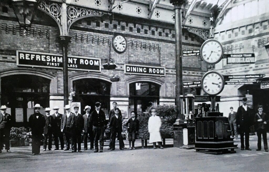 Old Photos of Fleetwood. Fleetwood Railway Station