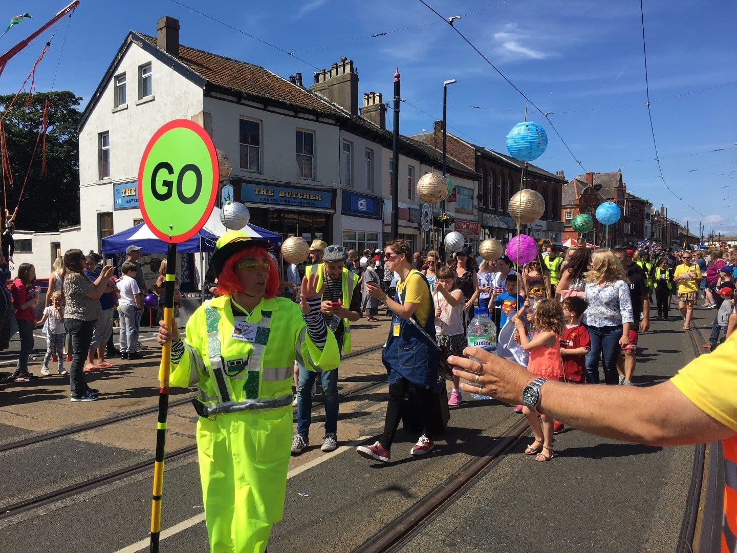 SpareParts Arts Parade, Fleetwood Tram Sunday 2017 Photos