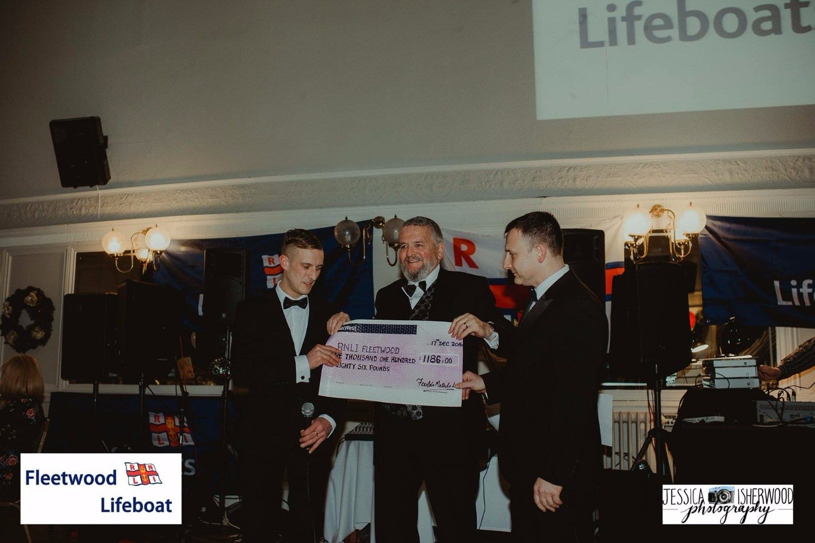 Foulds Metals make donation to Fleetwood RNLI