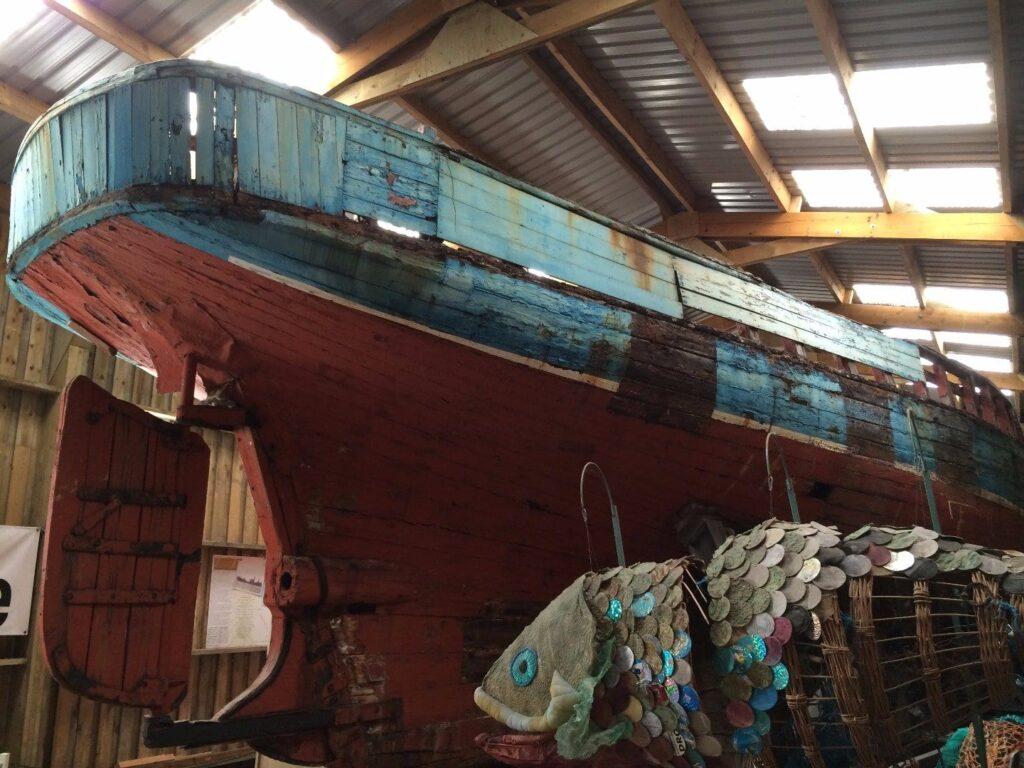 Harriet Fishing Smack - history of Fleetwood Museum