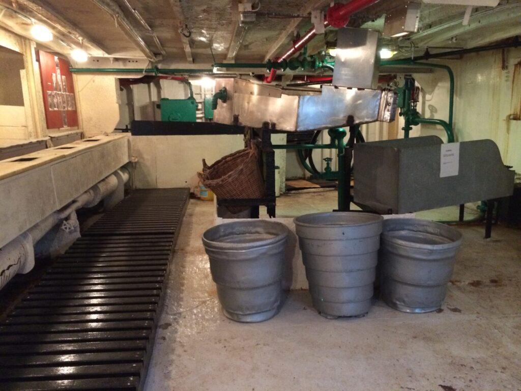 Factory deck of Jacinta Fishing Trawler. Photo: Visit Fleetwood