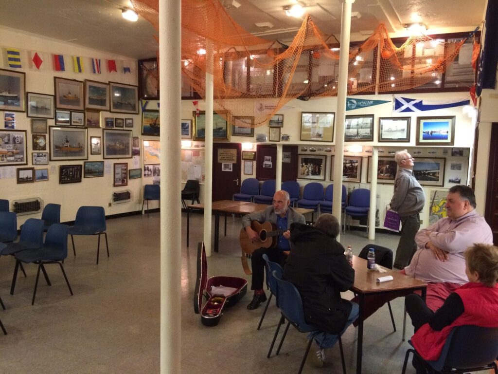 Inside the hull of Jacinta Fishing Trawler. Photo: Visit Fleetwood